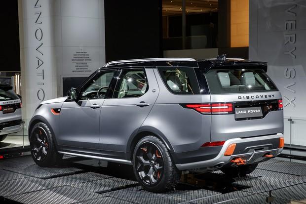 Land Rover SVX no Salão de Frankfurt