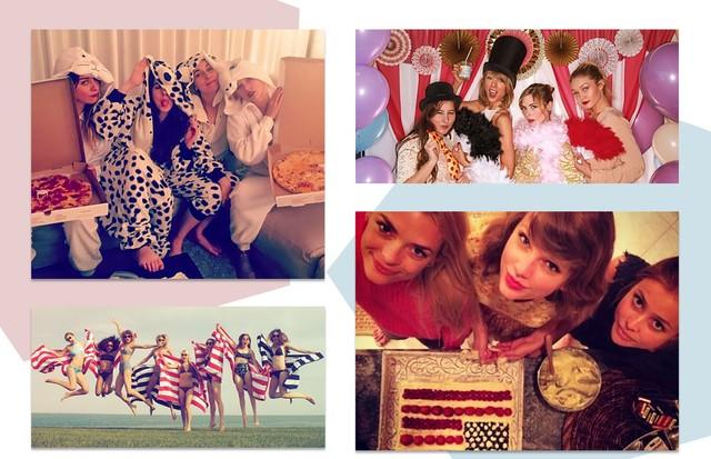 As melhores festas de Taylor Swift (Foto: Reprodução/Instagram)