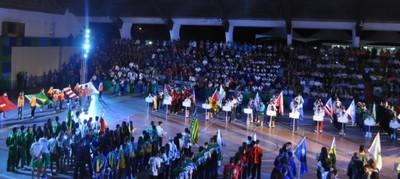 Delegação de MS participa da cerimônia de abertura dos Jogos Escolares da Juventude, na Paraíba (Foto: Divulgação/Fundesporte)