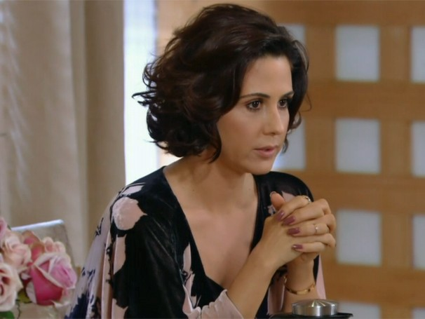 Esmalte marrom de Manuela, de Guerra dos Sexos, é o 4º colocado (Foto: Divulgação/TV Globo)