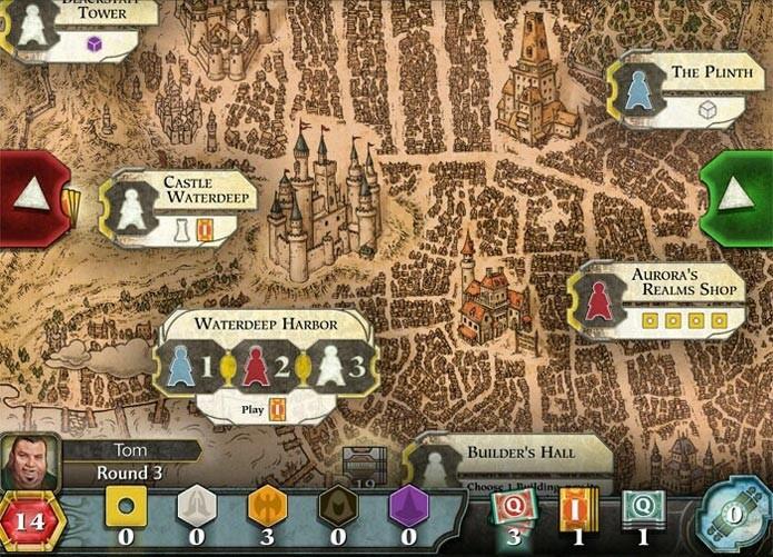 Lords of Waterdeep no iOS (Foto: Divulgação)