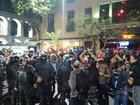 Manifestação no Centro do Rio tem confusão e feridos