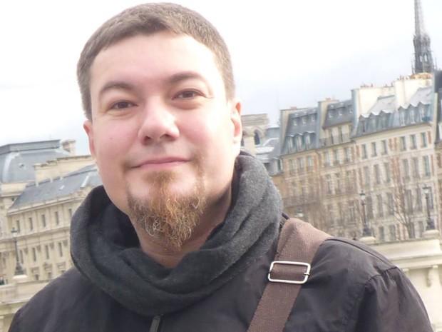 O escritor e roteirista Max Mallmman (Foto: Reprodução/Facebook do autor)