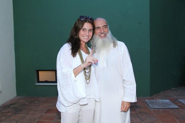 Giovanna Antoneli e  Sri Prem Baba (Foto: Alex Palarea_Agnews)