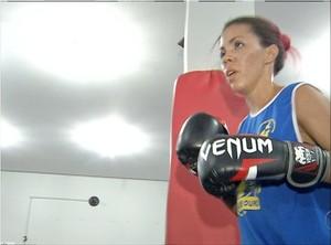 Lutadoras do Tocantins se preparam para o Brasileiro Feminino de Boxe (Foto: Reprodução/TV Anhanguera)
