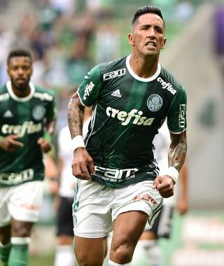 Negócio evolui, e Barrios pode trocar Palmeiras pelo Grêmio em definitivo
