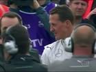 Mulher de Schumacher pede que jornalistas deixem a porta do hospital