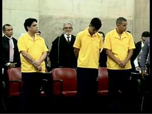 Réus foram condenados juntos a mais de 284 anos de reclusão (Foto: G1 Amazonas)