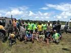 Exército de RO encerra o resgate de jipeiros que ficaram atolados em mata
