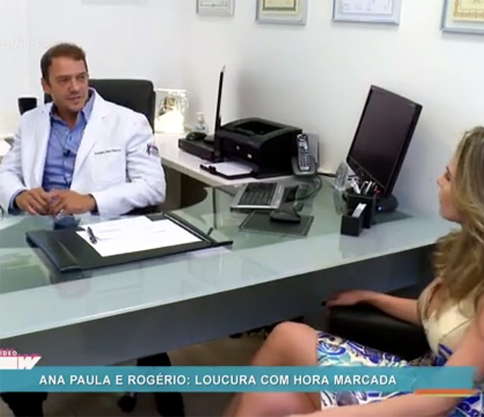 O médico Rogério Padovan se especializou em medicina esportiva (Foto: Vídeo Show / Gshow)