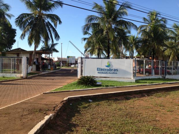Sede da Eletrobrás Distribuição Rondônia em Porto Velho (Foto: Taísa Arruda/G1)
