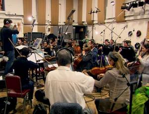 orquestra Londres (Foto: Reprodução SporTV)