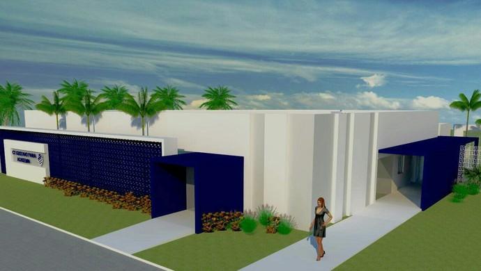 Nova academia do CT Gustavo Paiva (Foto: Assessoria / CSA)