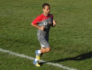 Moraes e recupera de contusão e não vai enfrentar o Fluminense (Foto: Ferreira Neto)