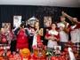 Atletas e cheerleaders do B. Cearense surpreendem fã mirim em aniversário