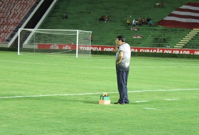 Luiz Eduardo; CAP Uberlândia; treinador (Foto: Lucas Papel)