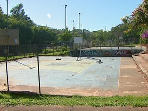 Parque do Bicão, em São Carlos (Foto: Ely Venâncio/EPTV)