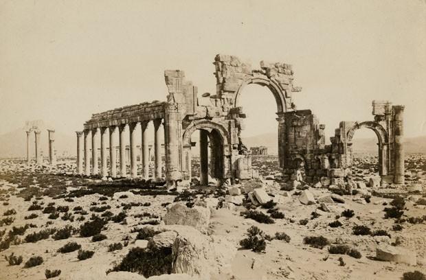 Arco destruído na Síria é reproduzido com impressão 3D (Foto: Getty Images)