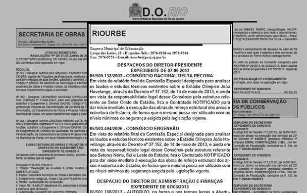rio urbe diário oficial (Foto: Reprodução)