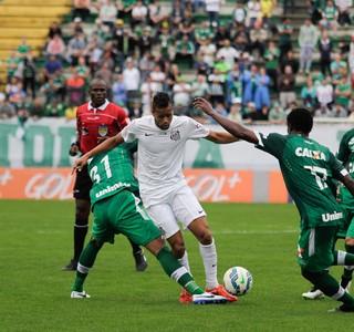 Chapecoense x Santos - Geuvânio (Foto: Jardel da Costa/Futura Press/Estadão Conteúdo)