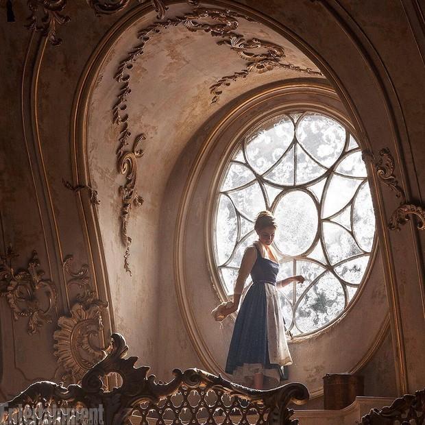 Emma Watson como Bela (Foto: Reprodução/Entertainment Weekly)
