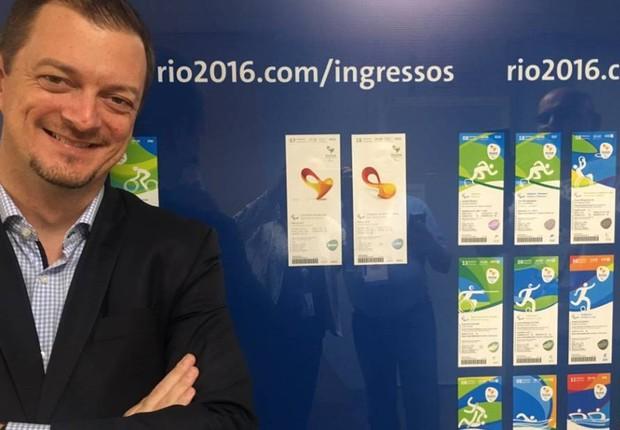 Andrew Parsons, Presidente do Comitê Paralímpico Brasileiro (Foto: Reprodução)