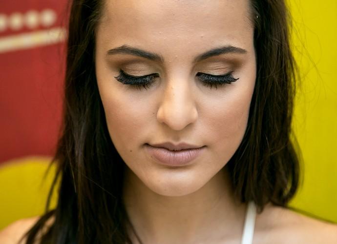 Olhos poderosos!!! (Foto: Isabella Pinheiro/Gshow)