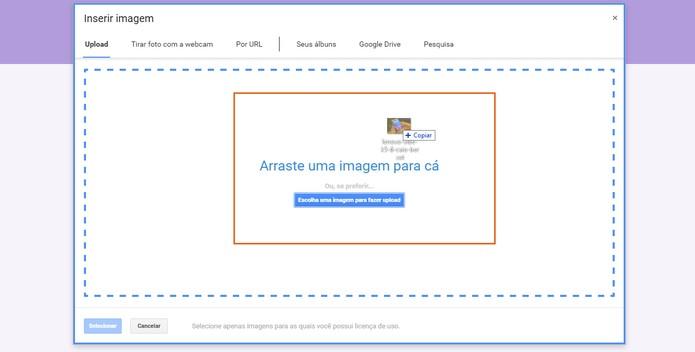 Adicione cada foto para as opções da verificação por imagem (Foto: Reprodução/Barbara Mannara)