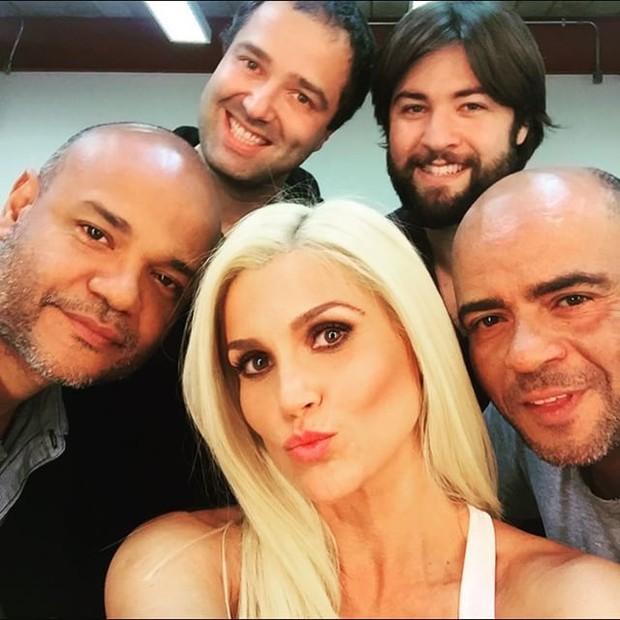 Flávia Alessandra exibe novo visual (Foto: Instagram/ Reprodução)