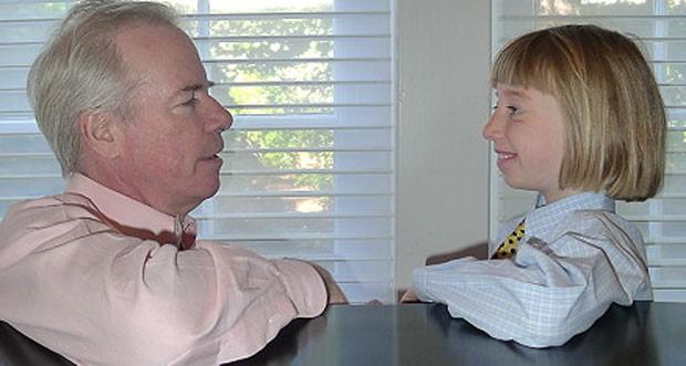Hugh Rienhoff descobriu sozinho a mutação genética da filha (Foto: Hugh Rienhoff )