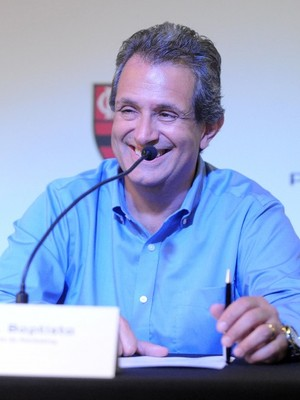 Luiz Eduardo Baptista, presidente da Sky e vice-presidente de marketing do Flamengo (Foto: Alexandre Vidal / Fla Imagem)