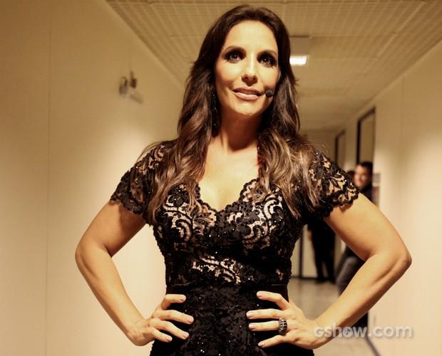 Ivete Sangalo Look (Foto: Raphael Dias / TVGlobo)