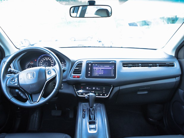 Interior do Honda HR-V (Foto: Caio Kenji / G1)