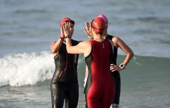 Rio Triathlon: triatletas dão show de disposição na etapa Pontal