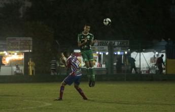Na bola parada, Palmeiras bate Bahia e vai à semi da Copa Brasil sub-15