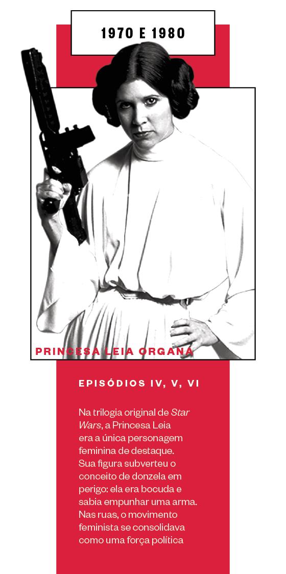 """""""Star Wars"""" - Episódios IV, V e VI (Foto: AGB Everett Collection/AFP)"""