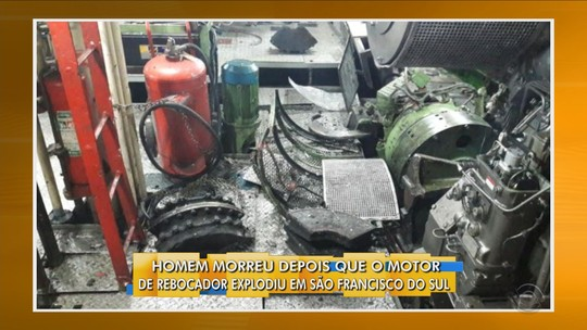 Trabalhador morre após explosão no Porto de São Francisco do Sul