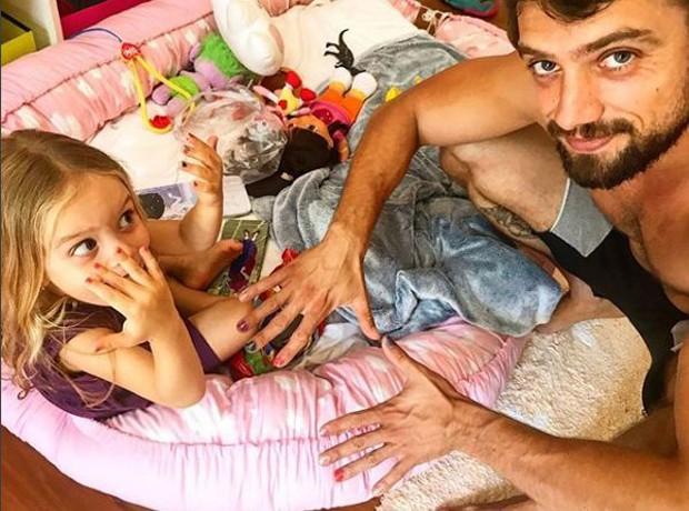 Aurora e Rafael Cardoso (Foto: Reprodução/Instagram)