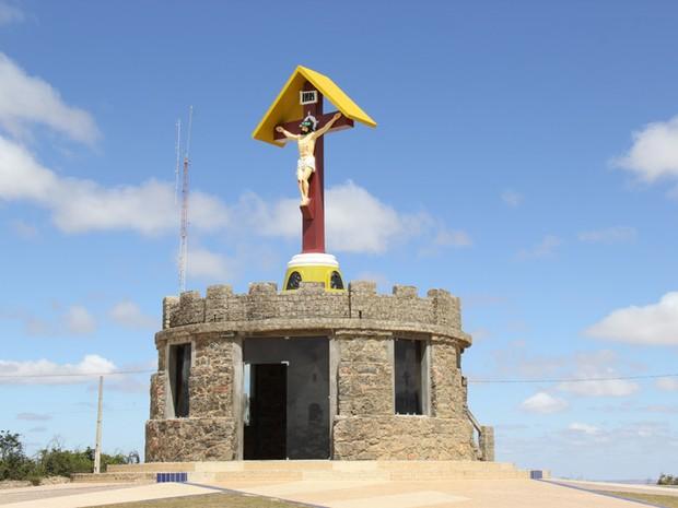 Cristo do Magano está localizado a 1.030 metros de altitude, em Garanhuns (Foto: Divulgação/Prefeitura de Garanhuns)