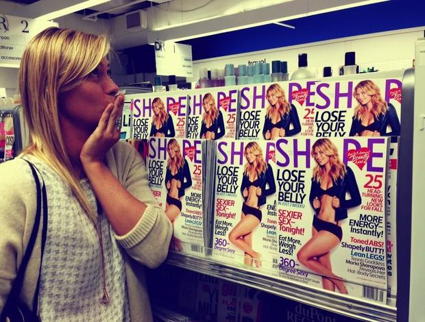 maria sharapova revista shape (Foto: Reprodução / Facebook)