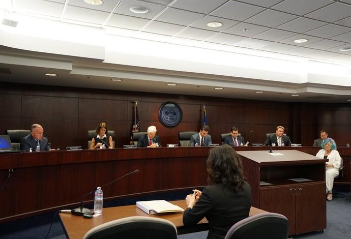 reunião Comissão Atlética de Nevada, MMA, UFC, Conor McGregor (Foto: Evelyn Rodrigues)