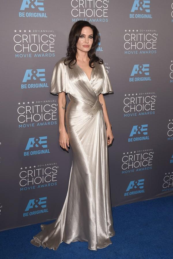 Angelina Jolie nunca escondeu seus gostos atípicos (Foto: Getty Images)