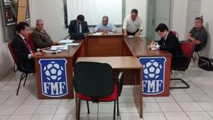 Julgamento Federação Mato-grossense de Futebol (Foto: Robson Boamorte)