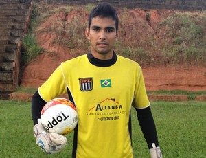 Celso Paraguaio Goleiro Presidente Prudente Futebol Clube PPFC (Foto: Ronaldo Nascimento / Globoesporte.com)