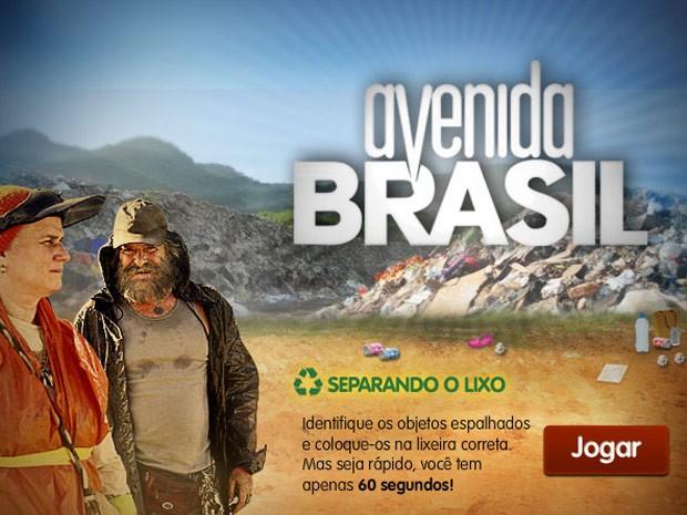 Divirta-se com todos os jogos de Avenida Brasil (Foto: Avenida Brasil/TV Globo)