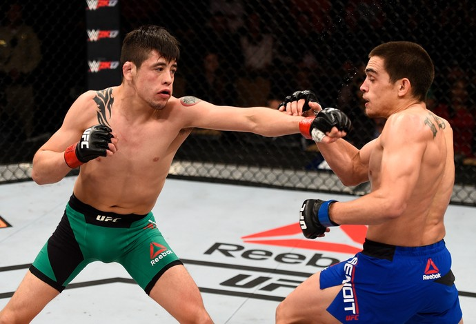 Brandon Moreno Ryan Benoit TUF 24 Finale (Foto: Getty Images)