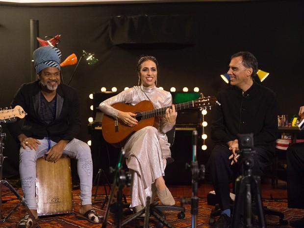 Carlinhos Brown, Marisa Monte e Arnaldo Antunes (Foto: Divulgação)
