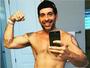 Leandro Hassum posa sem camisa nos Estados Unidos: 'Vida nova'