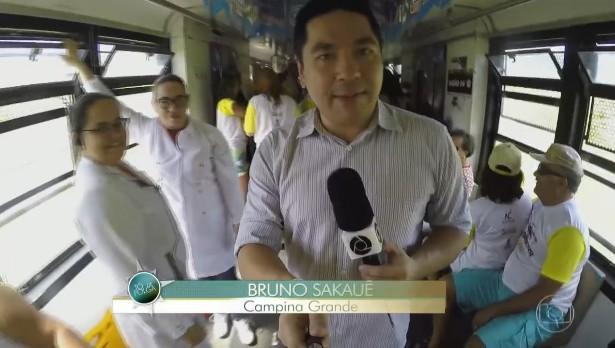 Reportagem mostrou reteiro para quem quer passar o São João em CG (Foto: Reprodução)