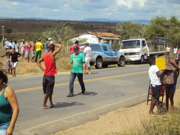 Situação ocorreu na manhã desta terça-feira (31), na Bahia  (Foto: Lenadro Alves/ Portal Bahia News)
